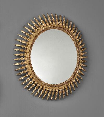Line Vautrin, 'Soleil torsadé mirror', circa 1955