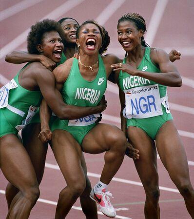 Ken Geiger, 'Nigerian Relay Team Olympics, Barcelona ', 1992
