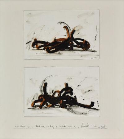 Bernar Venet, 'Combinaisons Électives de Lignes Indétérminées', 1992