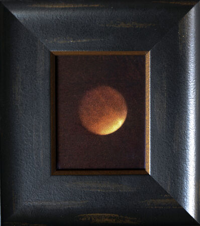 Kate Breakey, 'Total Lunar Eclipse II, September 8th, from airplane window [Ref. #302]', 2015