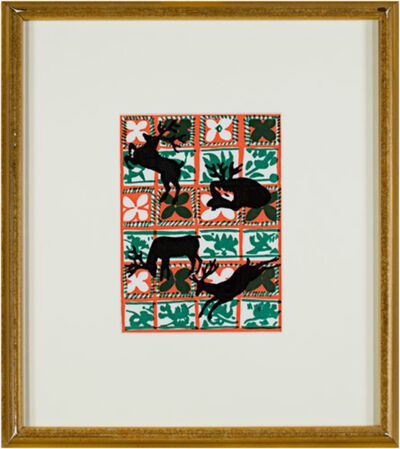 Ruth Grotenrath, 'Yuletide Silhouette', 1981