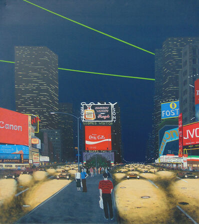 Bill Sullivan, 'Midnight (Times Square)', 1988
