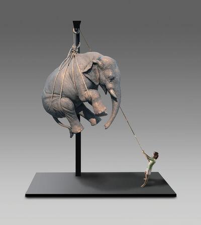 Stefano Bombardieri, 'Elia e l'Elefante', 2019