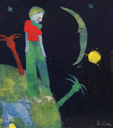 DeLoss McGraw, 'The Little Prince Divides His Paradise', 2018