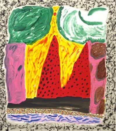 Shara Hughes, 'Cave Home', 2015