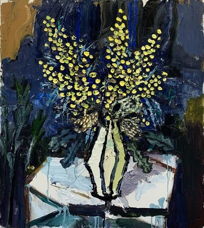 Paul Ryan, 'Wattle and Yellow Vase', 2019