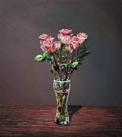 Joey Wolf, 'Roses in Beer Glass', 2019