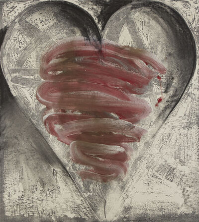 Jim Dine, 'Fog and Cold in July II', 2019
