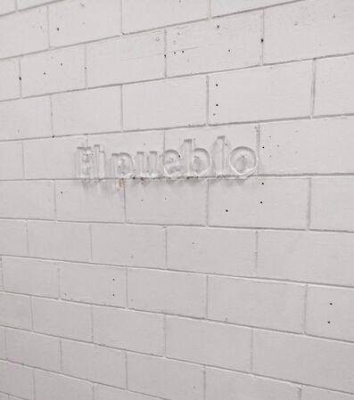 Raúl Rebolledo, 'El pueblo', 2019