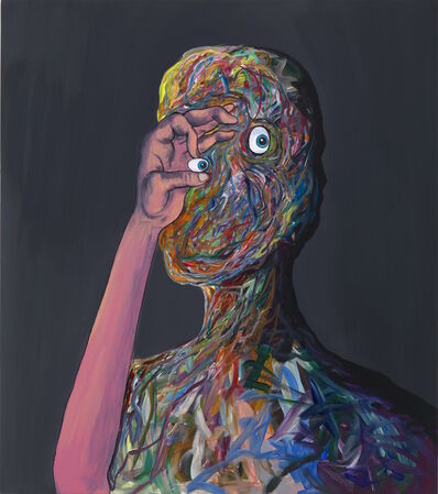 Djordje Ozbolt, 'Observing poet', 2017