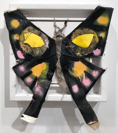 James Gortner, 'Butterfly (Black)', 2018