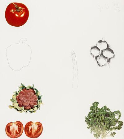 Jim Dine, 'Vegetables (Mirko cat 66A-H)', 1970