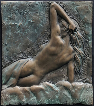 Bill Mack, 'NUDE WOMAN (BRONZE)', ca. 2000
