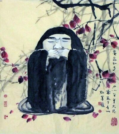 Ling Yang Chang, 'Pondering - 叶落知多少', 2012