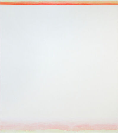 Shingo Francis, 'Orange and White', 2010-2011