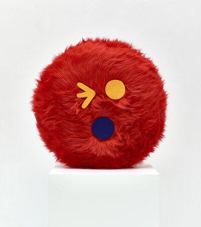 Misaki Kawai, 'Moko Moko (Red)', 2020
