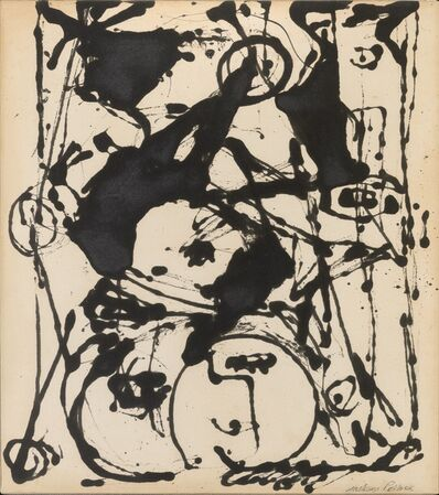 Jackson Pollock, 'Black and White Painting II', c. 1951