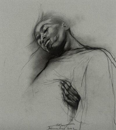 Ernest Pignon-Ernest, 'Etude Pour Johannesburg', 2002