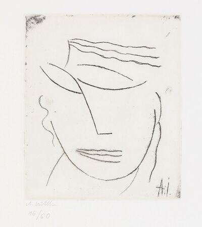 Alexej von Jawlensky, 'Kopf / Head (ergeben),', ca. 1923