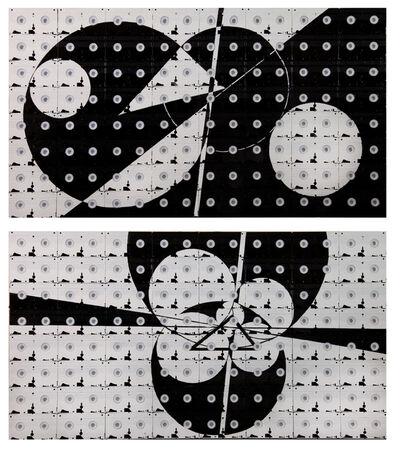 Mounir Fatmi, 'Propaganda 04 - Diptych', 2012