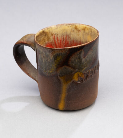 Ken Price, 'Untitled (Tequila Cup - Brown Exterior with Variegated Interior and Design)', 1970-1979
