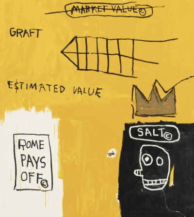 Jean-Michel Basquiat, 'Rome Pays Off', 1982-2004