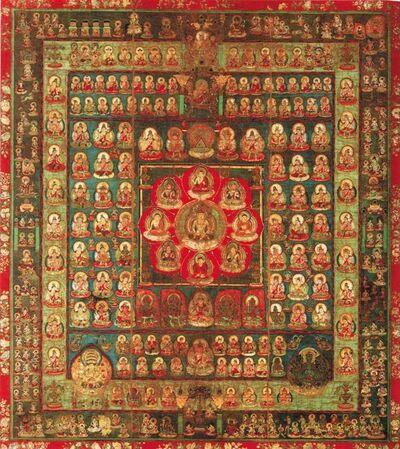 'Womb World Mandala', Late 9th century