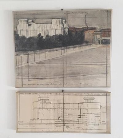 Christo, 'Reichstag', 1977