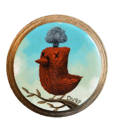 Nathan Durfee, 'Mind Blown Cardinal', 2019