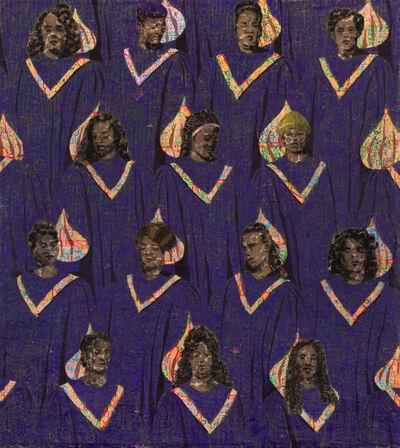 Derek Fordjour, 'Chorus of Maternal Grief', 2020