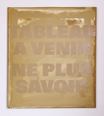 Remy Zaugg, 'Ein Blatt Papier III (SOP 370)', 1973-1990