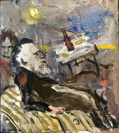 Zvi Milshtein, 'A Rabbi at a Farbrengen', 20th Century