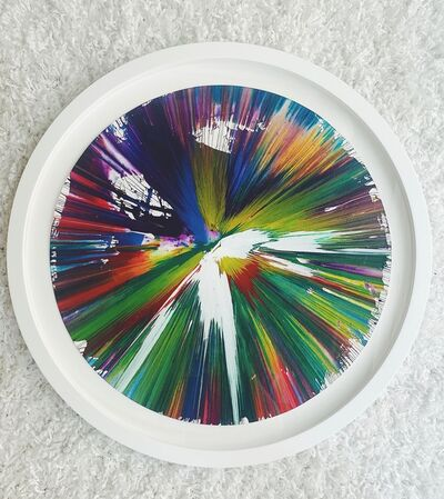 Damien Hirst, 'Signed Circle Spin Painting', 2009