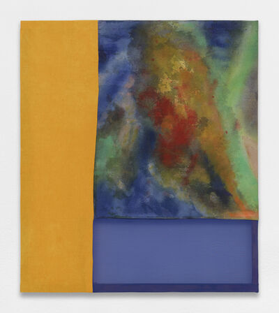 Lauren Luloff, 'Yellow and blue, Burst', 2018