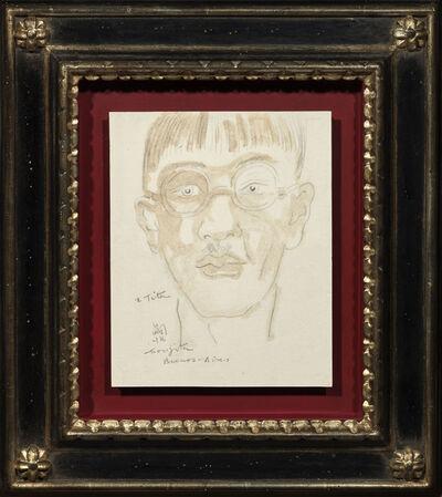 Tsuguharu Foujita, 'Selfportrait in Argentina', 1932