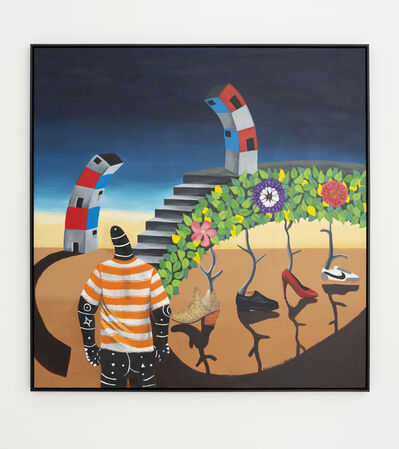 Kelechi Nwaneri, 'Empty pockets, Dreams & Helpers.', 2020