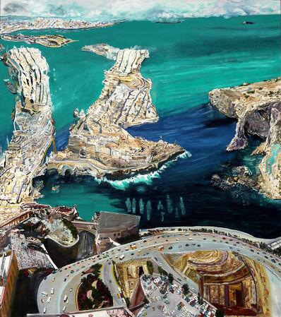 Olive Ayhens, 'Deep Time/Malta', 2009