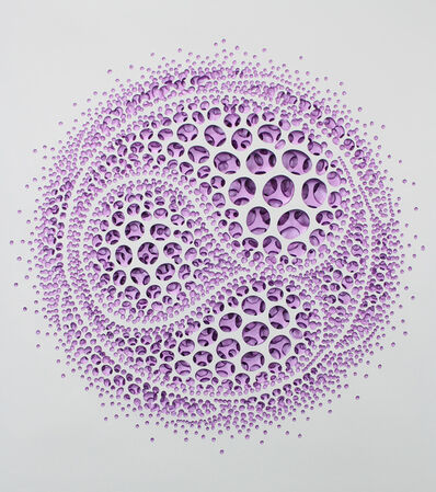 Kim Jae Il, 'Vestige (moving-violet)', 2016