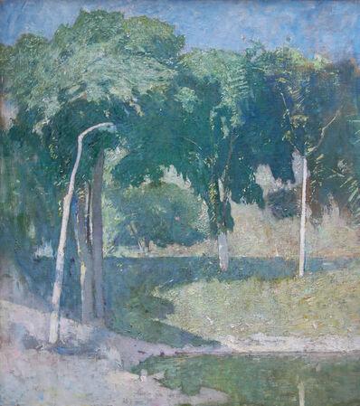 Soren Emil Carlsen, 'Lakeside'