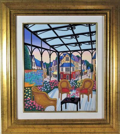 Fanch Ledan, 'Loggia a Dauville', ca. 1990