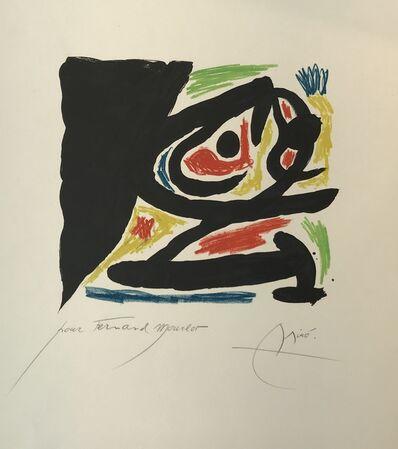 Joan Miró, 'Maîtres-Graveurs Contemporains', 1970