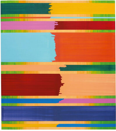 Bernard Frize, 'David', 2004