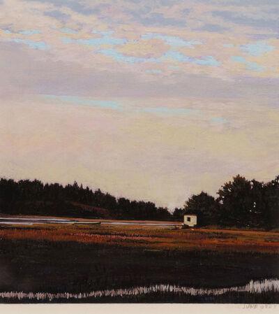 June Grey, 'Found Treasure on the Marsh'