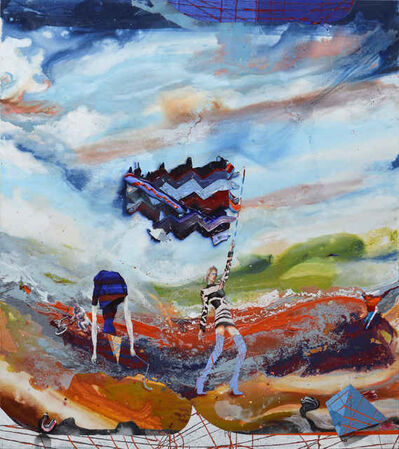 Michael Sistig, 'Cloud Chamber 5 - Flag', 2018