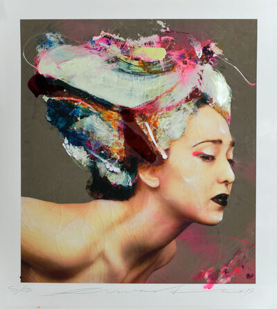 Lita Cabellut, 'Coral Flowers', 2019