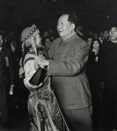 Dmitri Baltermants, 'Dancing is Politics too - Mao Tse Tung, Bejing', 1959