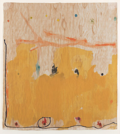 Helen Frankenthaler, 'Tales of Genji II (only sold as part of the complete suite of six woodcuts) ', 1998