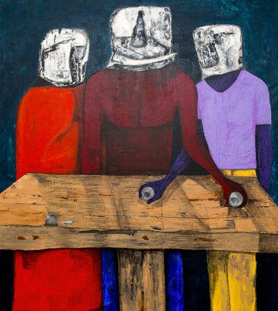 Sambou Diouf, 'La cène ', 2018