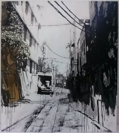 Miha Strukelj, 'SOUTH BEACH ALLEY II', 2015