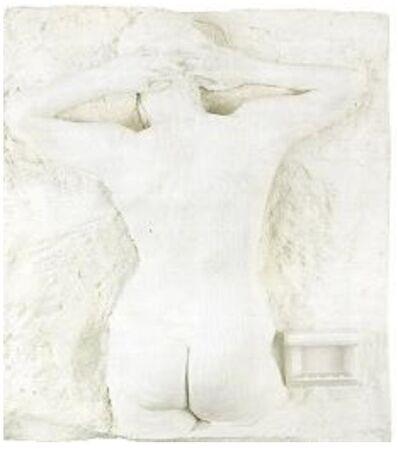 George Segal, 'Girl Pinning Up Her Hair', 1972